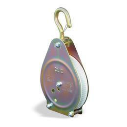 poulie de levage a cliquet pour cordage 20 a 30 mm