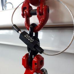 collier cable pour controle elingue 2020