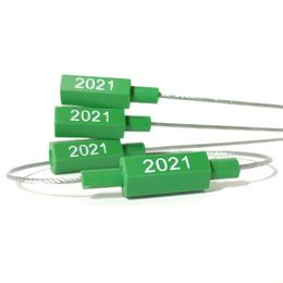 Clip de controle 2021 vert pour elingue de levage