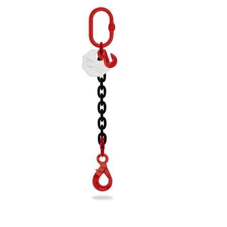 elingue chaine 1 brin crochet automatique et raccourcisseur 6mm-16mm 1 tonne-8 tonnes 3 metres