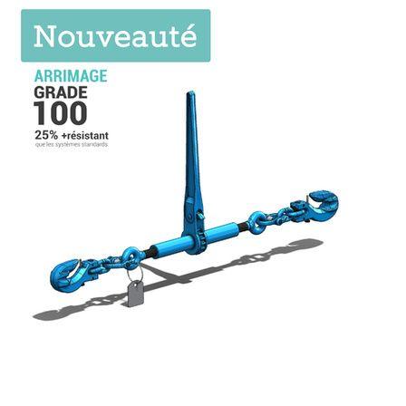 tendeur arrimage grade 100 pour systeme a chaine g100